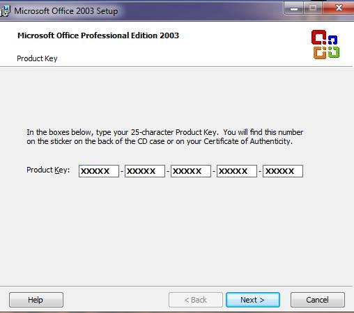 "Cara menginstall ""Microsoft Office 2003"" |    :::System"